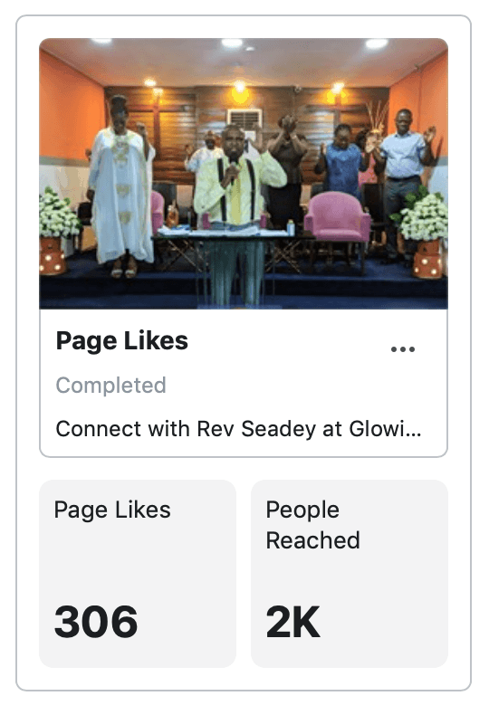 Facebook Page Likes GLC